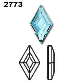 Swarovski 2773 Diamond Diagram