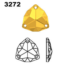 Swarovski 3272 Trilliant Diagram