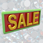 Swarovski Flat Back Crystals - Out of Program and Discontinued Colors - SALE