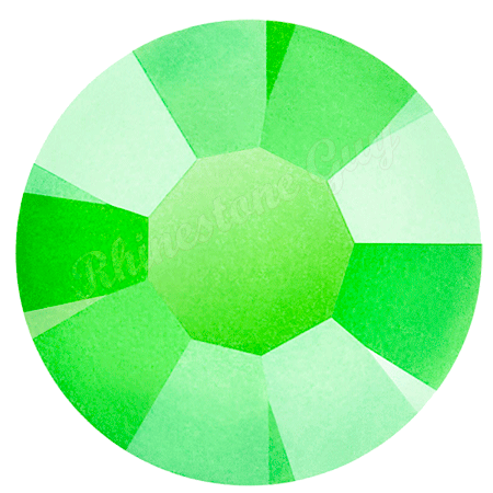 Preciosa Maxima Neon Green Rhinestones