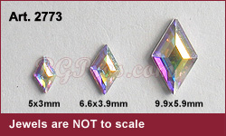 Swarovski Art 2773 Diamond Sizes