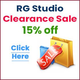 RG Studio Clearance Sale