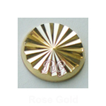 RG Radiance Round Nailheads Hot Fix - Gold