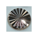 RG Radiance Round Nailheads Hot Fix - Hematite