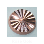 RG Radiance Round Nailheads Hot Fix - Rose Gold