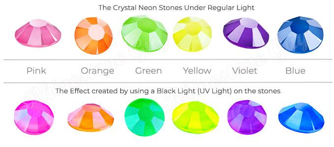 Neon Rhinestones, Maxima Crystals