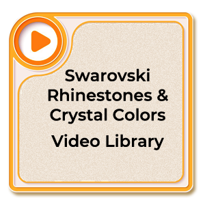 Swarovski Rhinestones Color Library