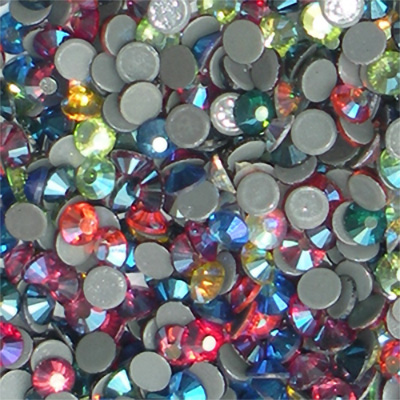 RG Premium Hot Fix Rhinestones- Various AB Colors - ss10 - <b>OVERSTOCK OR ODD LOT SALE</B>