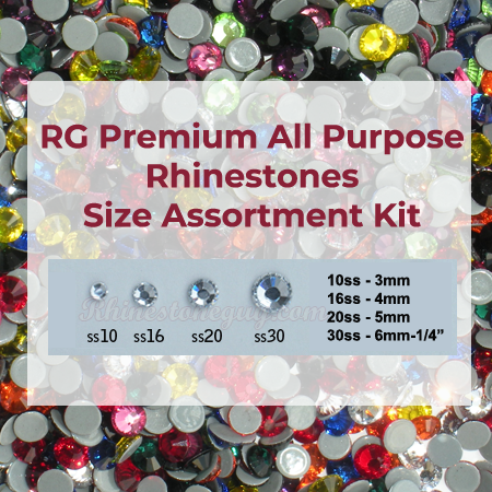RG Premium Rhinestones - Size Assortment