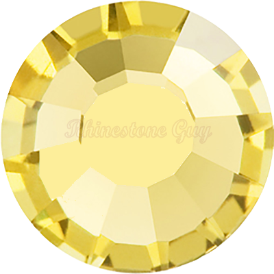 RG Premium All Purpose  Hot Fix Rhinestones - Light Topaz - <b>SALE</b>