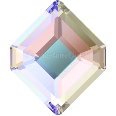 Swarovski 2777 Concise Hexagon Flatback - Crystal AB