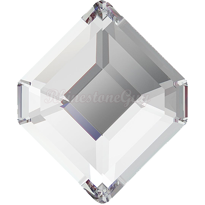 Swarovski 2777 Concise Hexagon Flatback - Crystal
