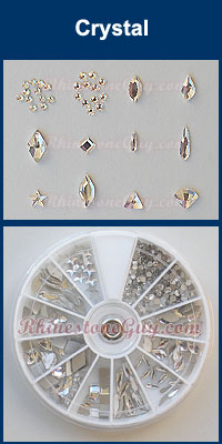 Swarovski Nail Art Kit - Crystal
