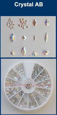Swarovski Nail Art Kit - Crystal AB