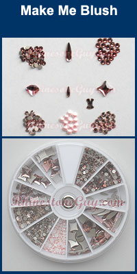 Swarovski Nail Art Kit -Make Me Blush