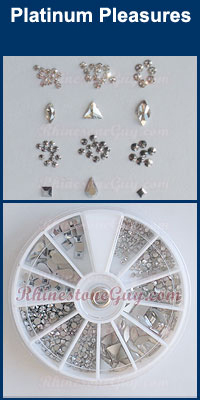 Swarovski Nail Art Kit - Platinum Pleasure