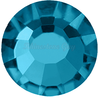 Bright Choice Flat Back Rhinestones - Bimini Blue