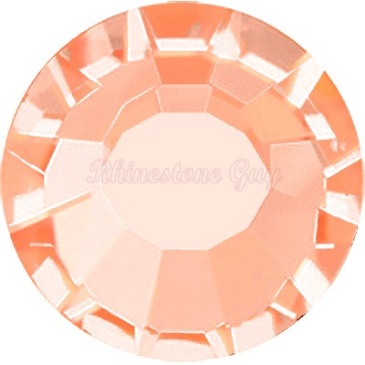 Bright Choice Flat Back Rhinestones - Peach