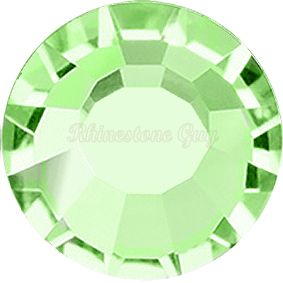 Bright Choice Flat Back Rhinestones - Peridot