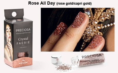Preciosa Crystal Faerie - Rose All Day (Rose Gold)