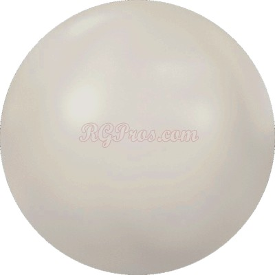Swarovski 2080/4 Hot Fix Pearl Cabochon - Crystal White