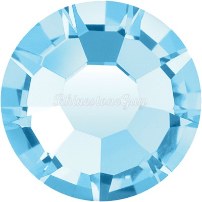 Preciosa <b>Hot Fix</b> VIVA 12 Rhinestones - Aquamarine