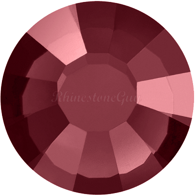 Preciosa <b>Hot Fix</b> VIVA 12 Rhinestones - Burgundy