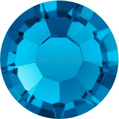Preciosa <b>Hot Fix</b> VIVA 12 Rhinestones - Capri Blue