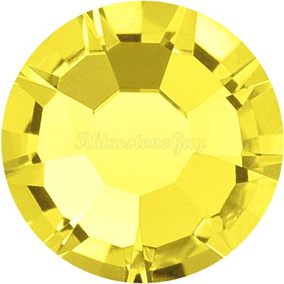 Preciosa <b>Hot Fix</b> VIVA 12 Rhinestones - Citrine