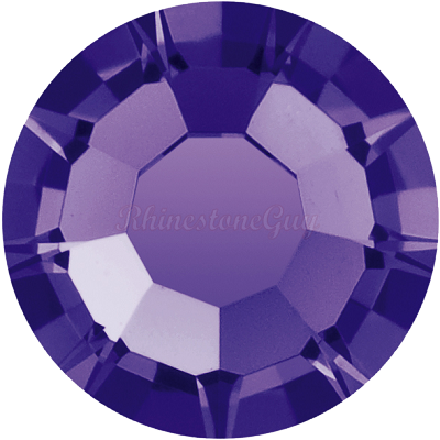 Preciosa <b>Hot Fix</b> VIVA 12 Rhinestones - Deep Tanzanite