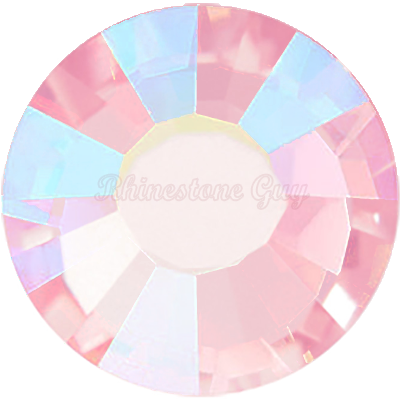 RG Premium All Purpose  Hot Fix Rhinestones - Light Rose AB