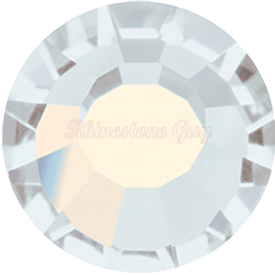 RG Premium All Purpose  Hot Fix Rhinestones - White Opal