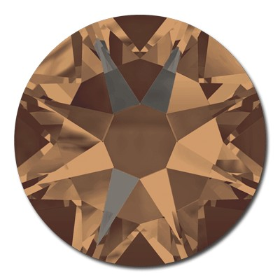 Swarovski Flat Back 2088 and Hot Fix 2078 - Crystal Bronze Shade - SALE