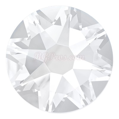 Swarovski Flat Back Round Rhinestones Art. 2088 - Crystal - <b>Unfoiled</b>