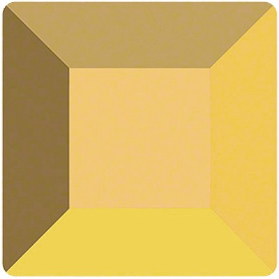 Preciosa 301S Flat Back Square - Aurum (Gold)